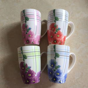 Stocks holiday eco ceramic porcelain espresso coffee mug cup bulk