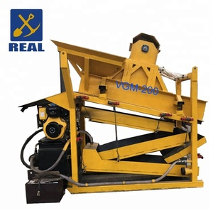 Safereliable portable equipment vibrating screen