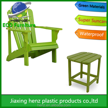 Cheaper Polywood HDPE Adirondack Chairs For All Weather In Jiaxing