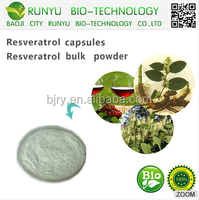 Lowest price high quality Polygonum cuspidatum extract trans- resveratrol. resveratrol 98% powder
