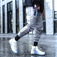 Killwinner sports loose hip hop jogger trousers tide brand men street breathable contrast color casual cargo pants