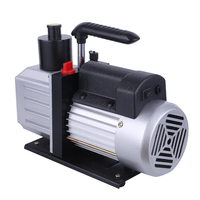 1 stage mini value 5 cfm price rotary vane vacuum pump with AC Manifold Gauge Set R410 R22 R134 R407C