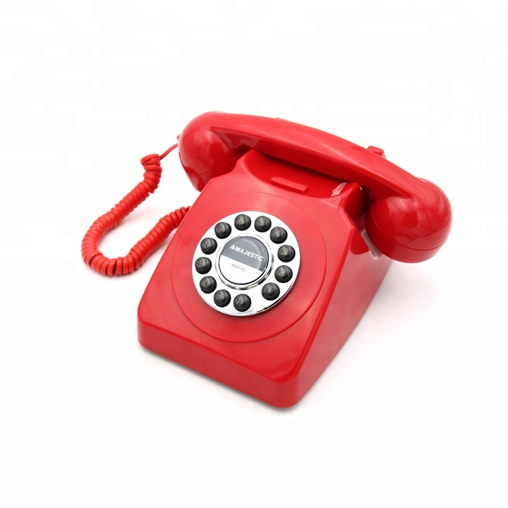 Best Design Old American Style Unique Retro Phone with Last Number Redial Function for Home Use