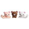 Free Shipping colored plastic Animals pet bear phone holder universal mobile phone holder Cute seat Stand cell phone holder
