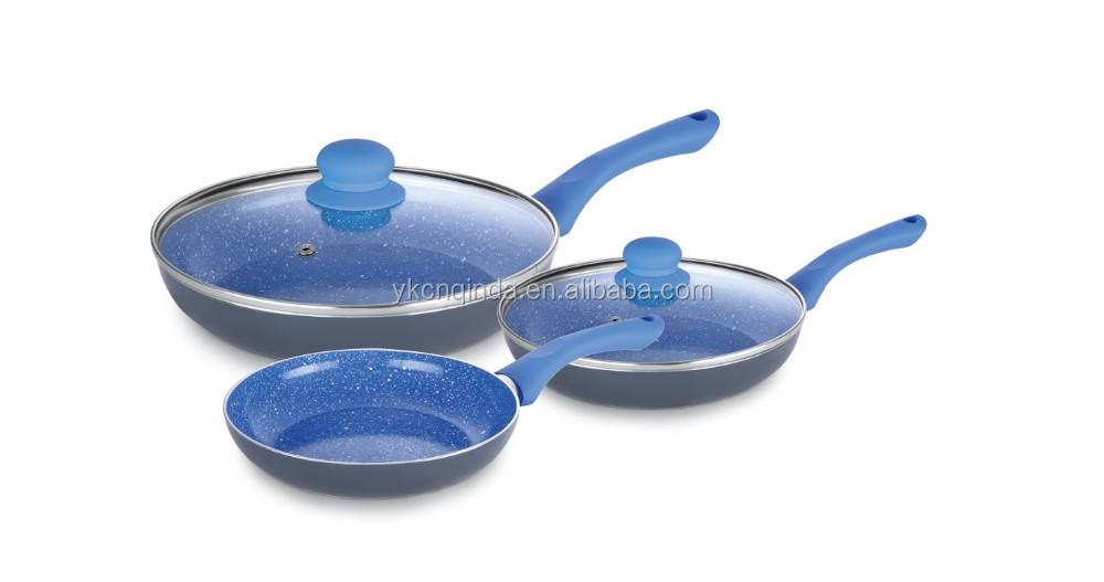 Ceramic Coating Aluminum Cookware Set With Induction
