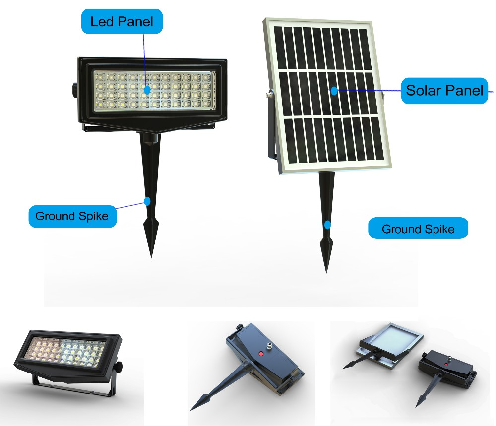 Colored Outdoor Decorative Solar Lights For Garden