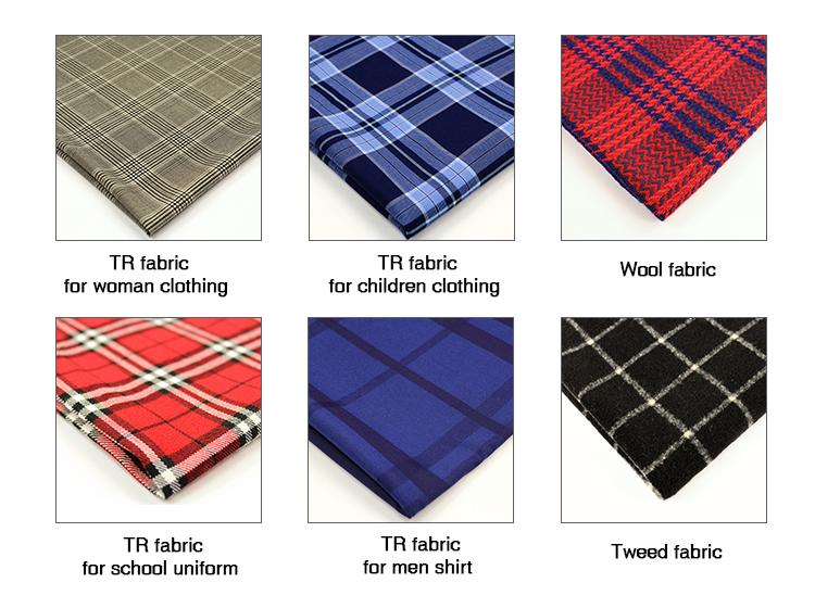 2019 style coréen tissu de mélange de laine de cachemire femmes vêtements