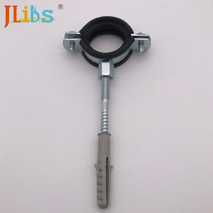 China Manufacturer steel wire rope clamp pliers/ cast iron pipe clamp for Europe market/rubber line clamp