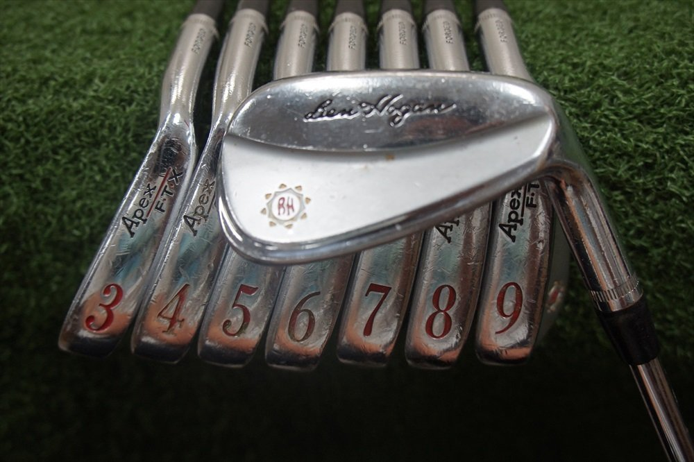 Ben Hogan Apex Ftx Forged Right-Handed Iron Set Steel Stiff