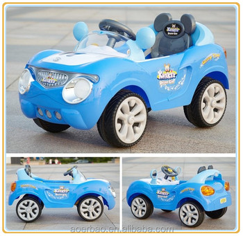 2015 cool electric kids foot pedal car in china remote control ride on rechargeable car