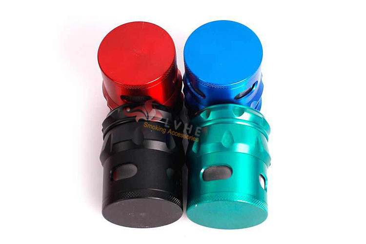 T077GZ LVHE Quality Chinese Products Zinc Custom Weed Grinder