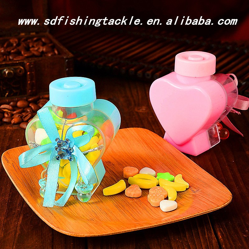 2016 competitive price and high quality plastic sweets bottle for children favors