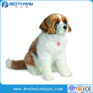 Plush Saint Bernard Dog Plush Saint Bernard Dog Suppliers And