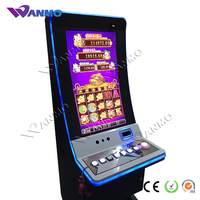 Bent Touch Screen Gambling Casino Duofuduocai Slot Game Machine with jackpot function