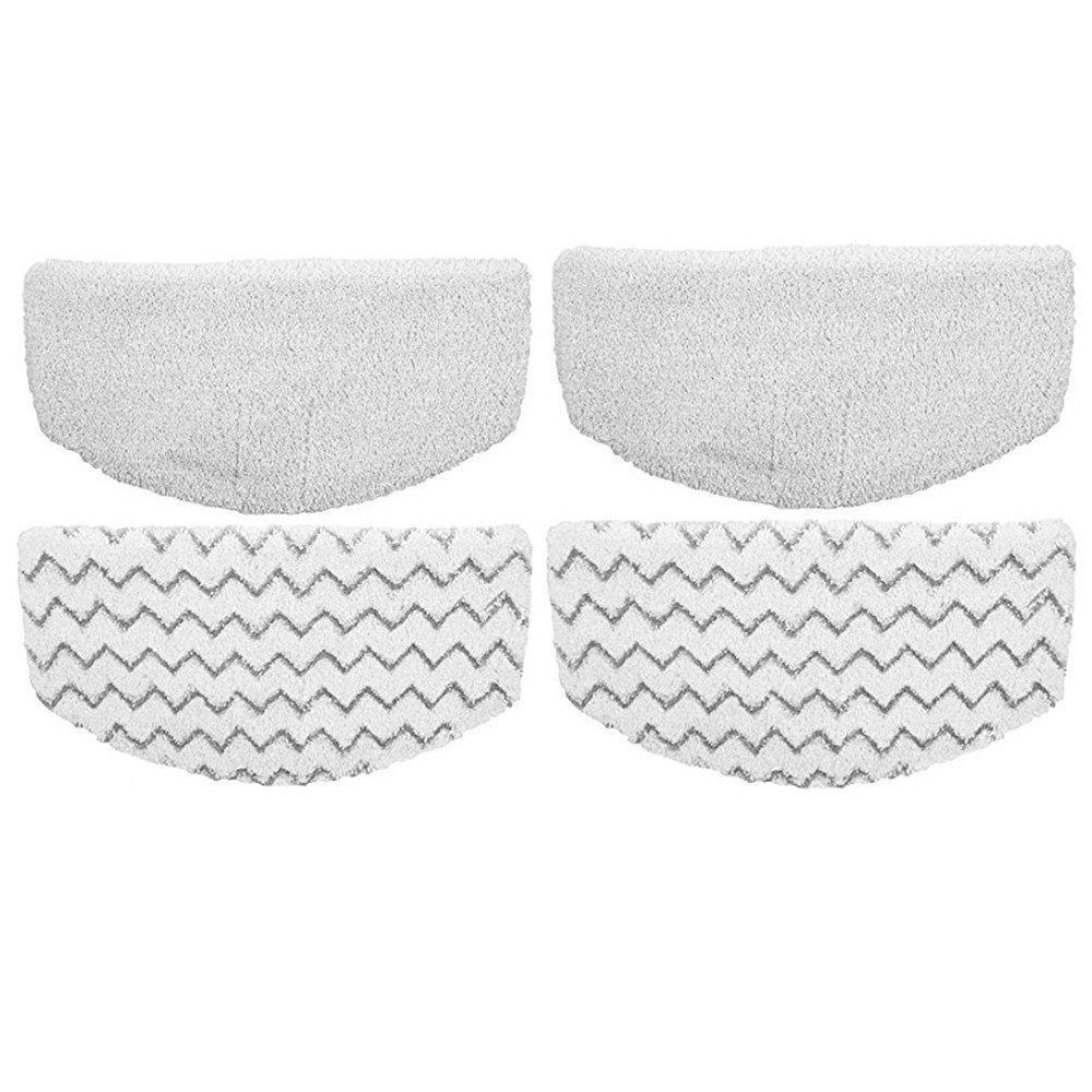 ZLZH 4 Pack Replacement Pads for Bissell Powerfresh Hard Floor Steam Cleaner 1940 1440 1806 Series Steam Mop Compare to Part # 5938 & 203-2633 (4 Pack)