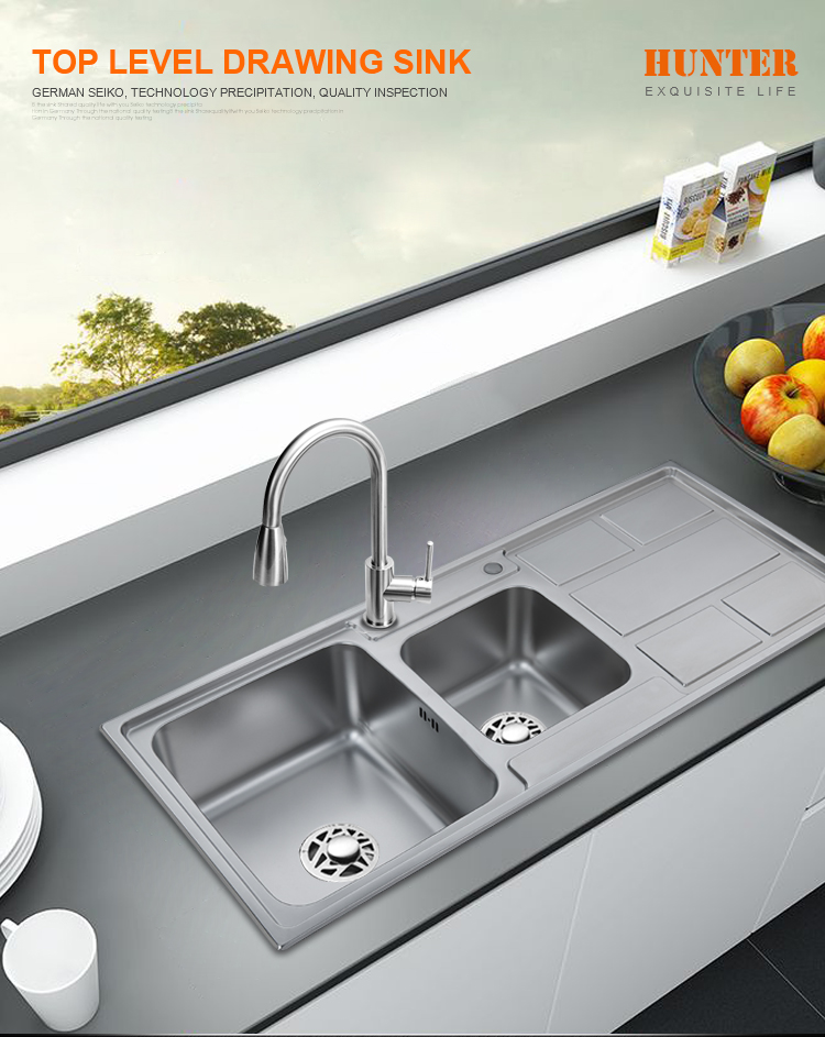 Franke Sinks Basin Used Portable Sink 16 Gauge Stainless Steel 201 Kitchen Sink With Drainboard For Outdoor Buy High Quality Single Sink 16 Gauge