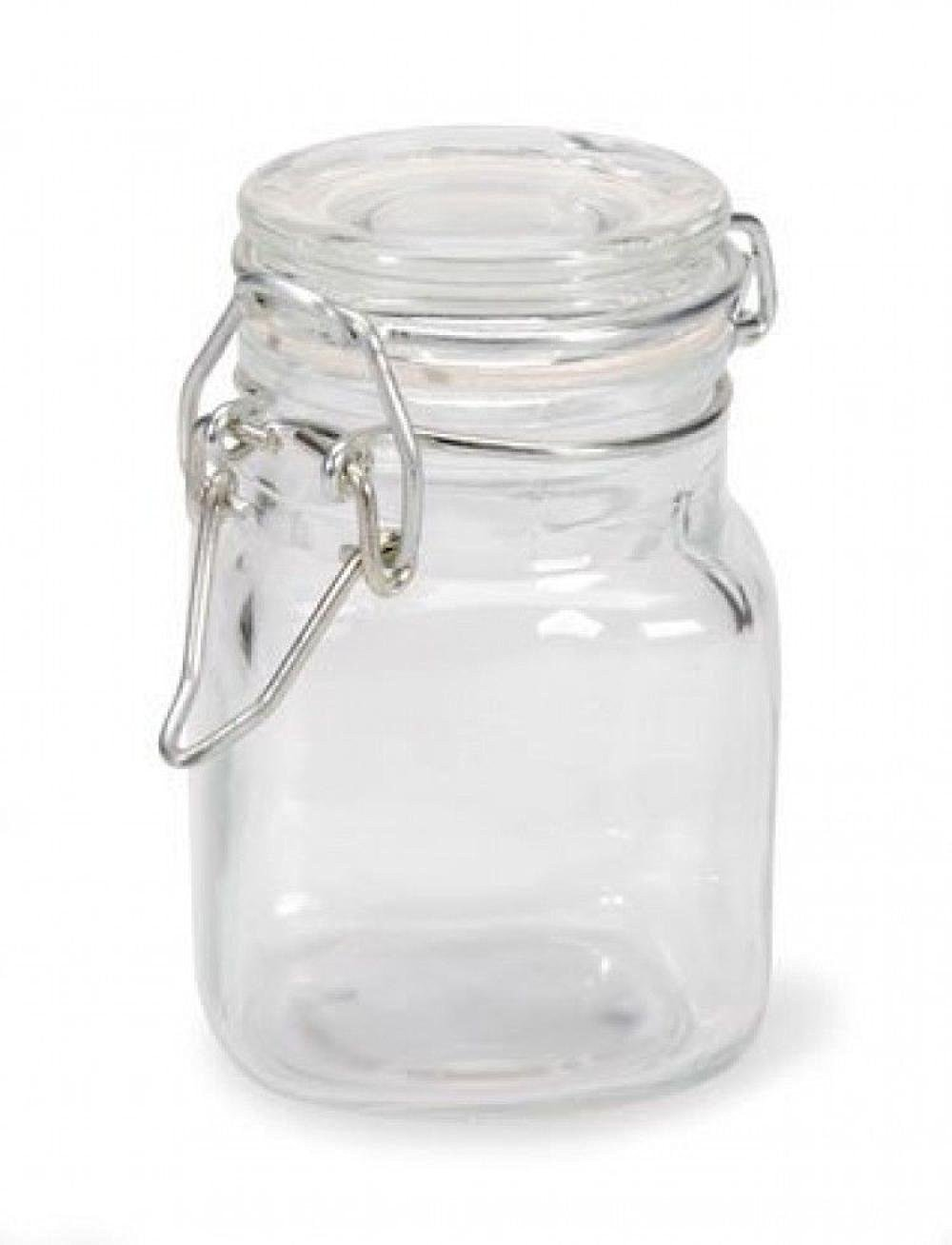 Small Square Gl Jars