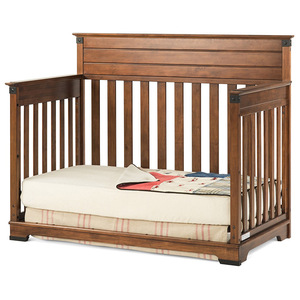 Hot Sale Bed Design Furniture Wooden Foldable Baby Bed Adult Baby Crib
