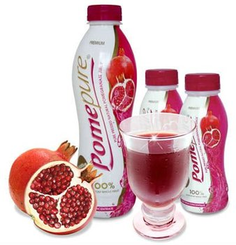 how to drink pure pomegranate juice