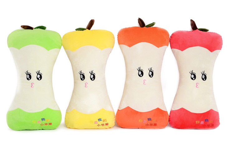 Creative apple pillow cushion small apple plush toy fruit pillow best sleeping pillow for children