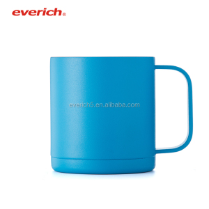 Vacuum insulated double wall stainless steel mug