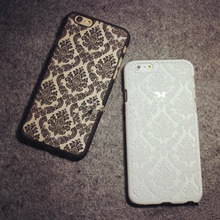 """2015 New Arrivals Phone Case Back Cover for IPhone 6 Cases Damask Vintage Flower Pattern Luxury 4.7""""inch"""