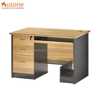 Straight Table Modern Corner Computer Desk