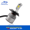 All in One 6500K S2 COB Car Led Headlight Bulbs H7 H4 H13 9005 36W 4000LM for Car/Truck