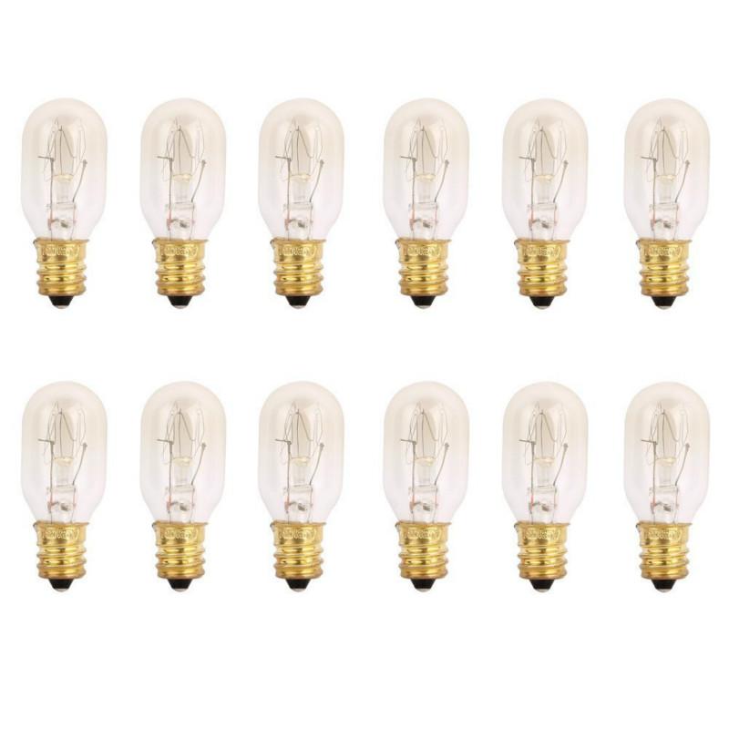 25 Watt Himalayan Salt Lamp Light Bulbs Incandescent Bulbs E12