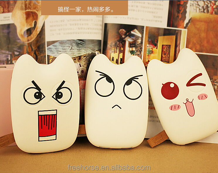 Cute Totoro Power Bank Portable Charger power bank totoro 10000mAh battery externa; mobile phone batteries for Cell Phone