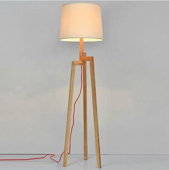 Wooden Floor Lamp Tripod Floor Standing Lamp Buy Wooden Floor Lamp