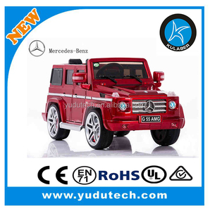 Lisenced Mercedes-benz G55 remote control baby electric car kids battery powered Mp3 2.4G blue tooth remote control ride on cars