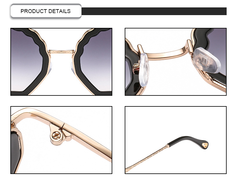 Best womens gold sunglasses Suppliers for sport-11
