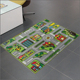 Education Popular Amazon Style Anti Dust Babies Play Mats Kids Area Rugs