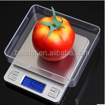 multi-functional digital kitchen scale for household useful pocket scale