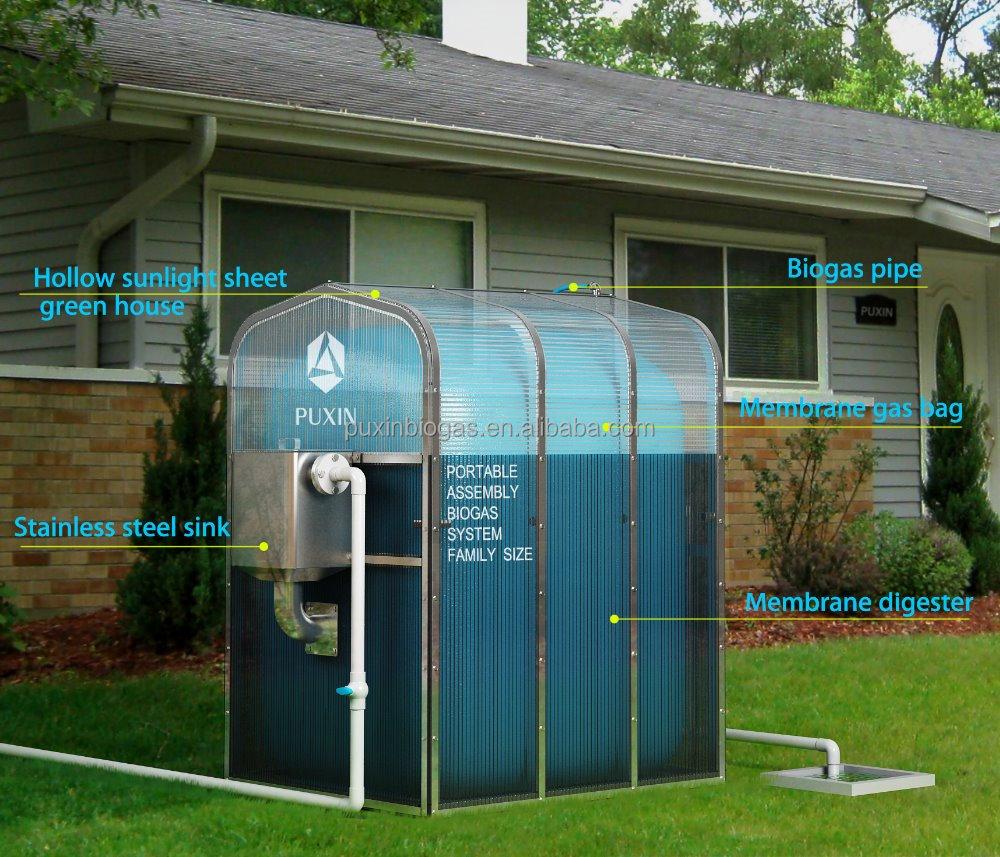Top Bausatz Für Den Mini-biogas-kocher Für Familien - Buy Mini @XD_45