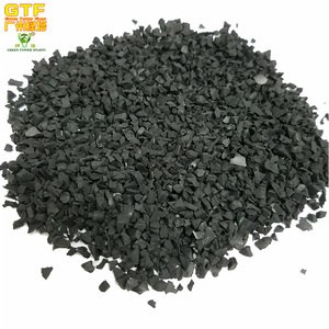 Black Color Recycled Rubber Granules/ Best Prices Rubber Filler for Football Artificial Grass
