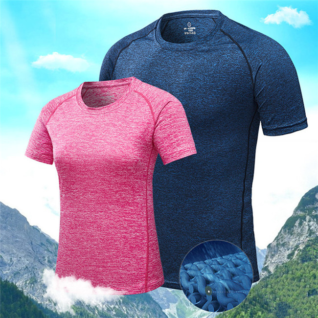 Wholesale custom women men gym wear sports clothes fitness with quick dry function