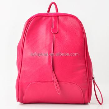 2018 Cute Pink High School Girls Pu Leather Backpack Bags For Children Buy Backpack Bag School Pu Leather Backpack Children Backpack For Girls