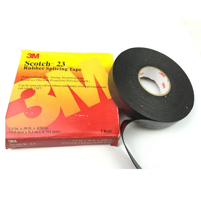3M 23 High Voltage splicing tape, self-fusing EPR tape