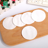 Disposable Round cosmetic Absorb cotton pad make up remover pad