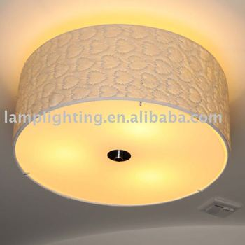 Romantic special design fabric shade ceiling light buy ceiling romantic special design fabric shade ceiling light mozeypictures Choice Image