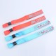 Made in China polyester fabric wristbands custom no minimum order