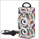 Portable outdoor sound box amplifier wooden karaoke party stage speaker
