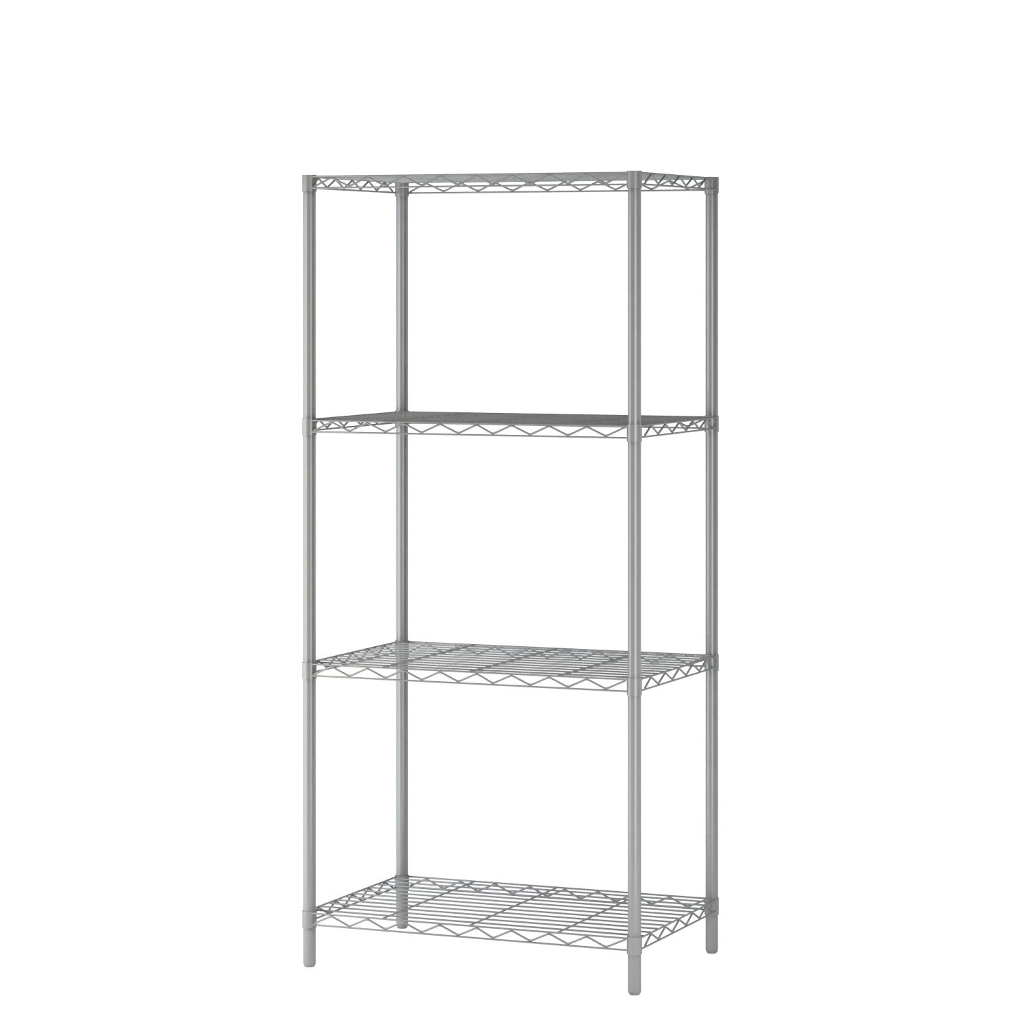 Buy Homebi 4 Tier Wire Shelving 4 Shelves Unit Metal Storage