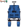 latest technology multifunction collapsible high capacity beach camping folding drinks equipment trolley for luggage