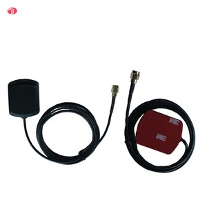 low noise high gain gps car antenna with adhesive base