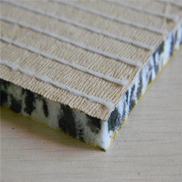 Living Room Use Shag Carpet Underlay By Rebonded Foam
