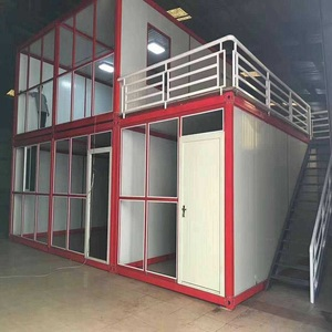 New product Insulation panel stackable living container house for sale