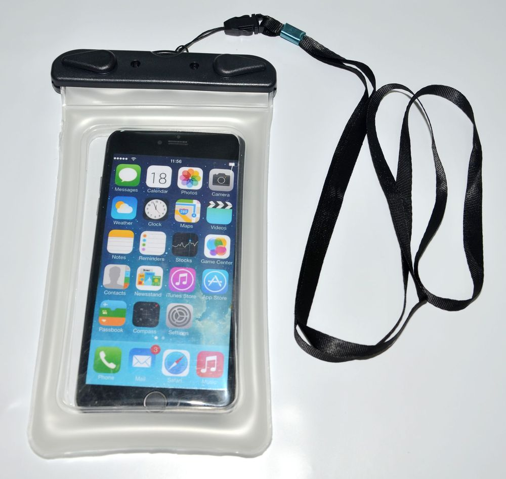 Floating Waterproof Cellphone Pouch For Diving Swimming Snorkling Corlorful ABS Buttons